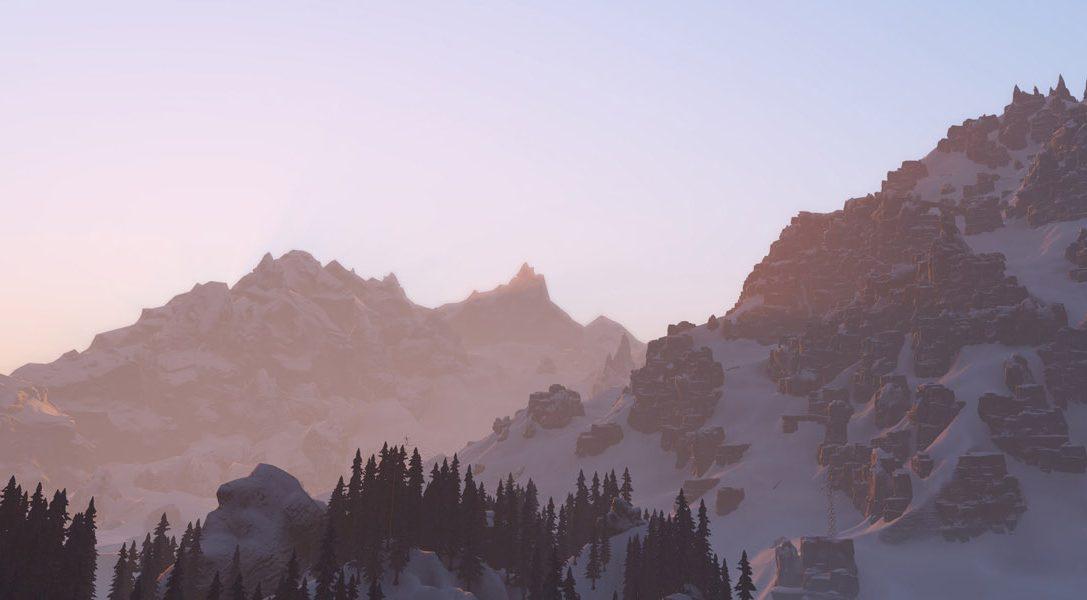 El juego de deportes de invierno de mundo abierto SNOW llegará a PS4