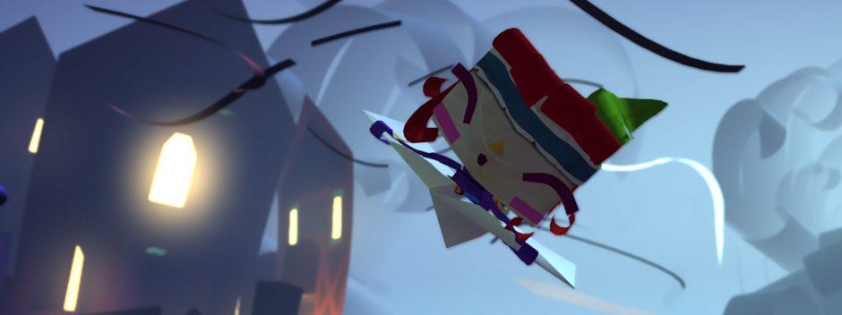Tearaway Unfolded para PS4 se da a conocer en gamescom 2014
