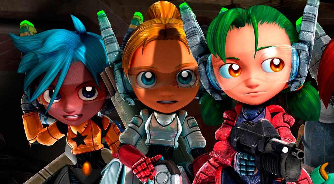 Salen a la luz los personajes y armas de Assault Android Cactus