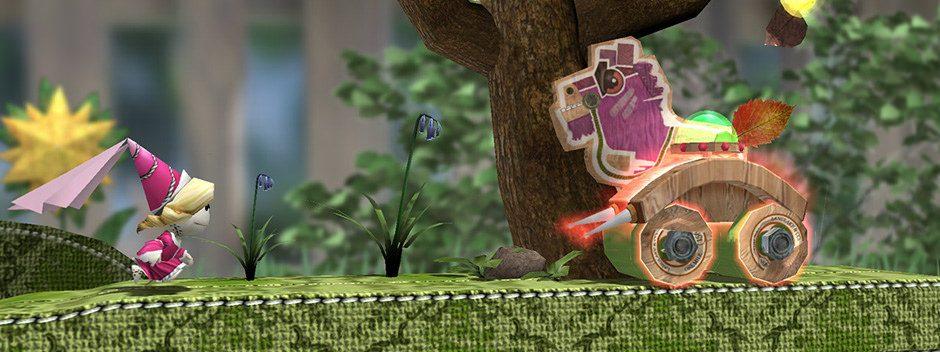 El juego de plataformas Run Sackboy! Run! llegará a PS Vita y dispositivos móviles