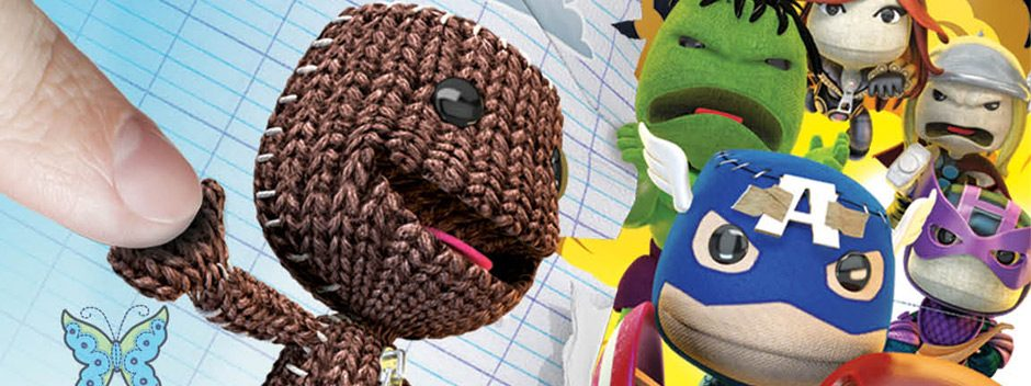 LittleBigPlanet PlayStation Vita Marvel Super Hero Edition saldrá en noviembre