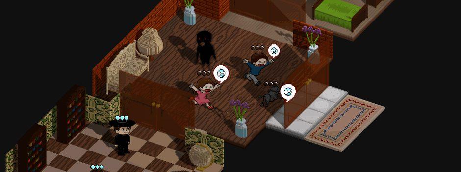 El sobrenatural puzle Poltergeist: A Pixelated Horror anunciado para PS Vita