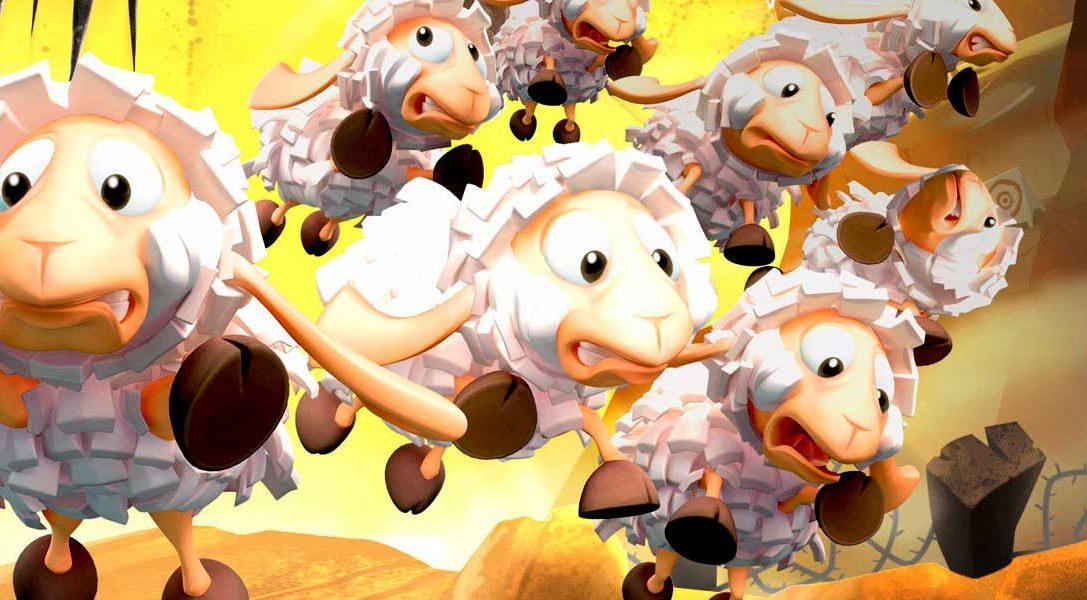 Flockers, de los creadores de Worms, llega la semana que viene a PS4
