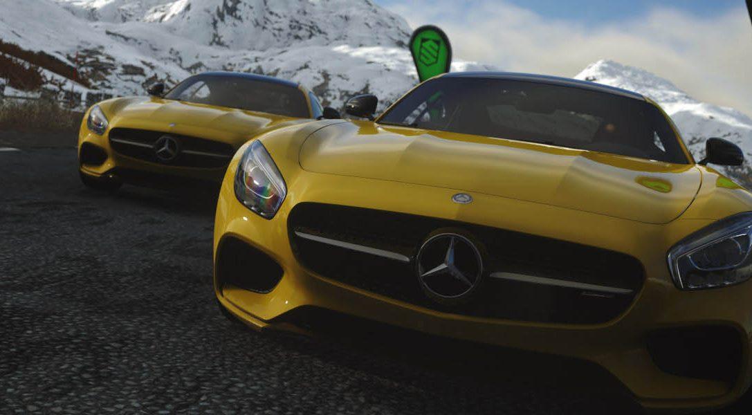El nuevo Mercedes-AMG GT se lanzará de manera exclusiva en DRIVECLUB para PS4