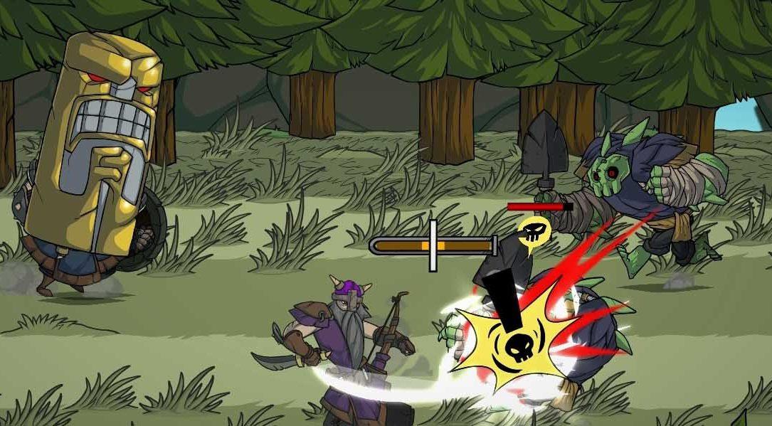 El beat 'em up cooperativo Viking Squad llegará a PS4 en 2015