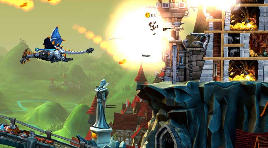 El juego de acción y estrategia CastleStorm: Definitive Edition disponible mañana en PS4