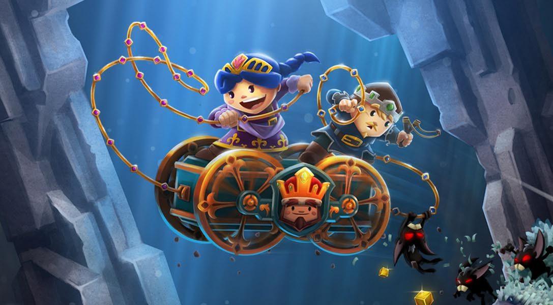 El juego cooperativo de plataformas Chariot comienza su andadura en PS4 el mes que viene