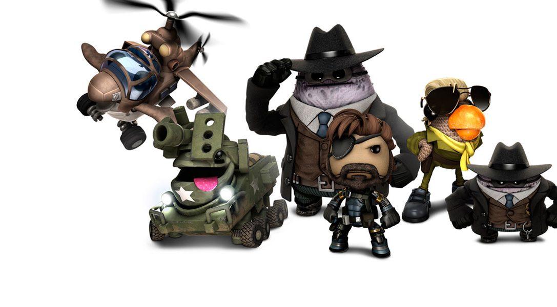 Metal Gear Solid: Ground Zeroes y The Order: 1886 llegan a LBP3