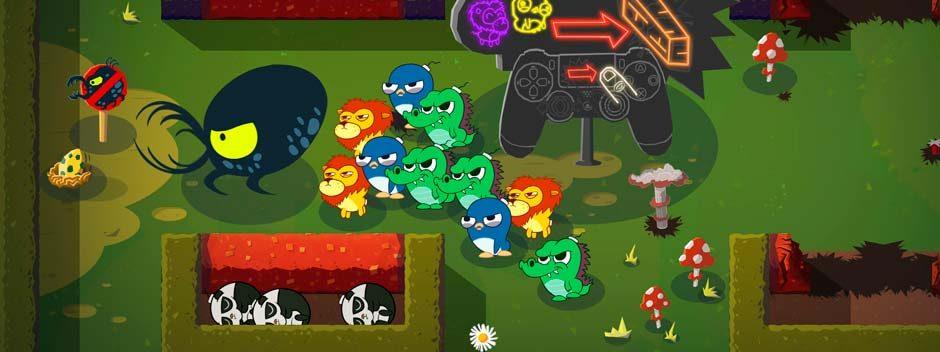 Echa un vistazo a Super Exploding Zoo, el nuevo juego del equipo de desarrollo de Hohokum