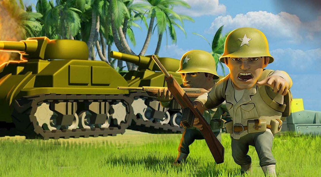 El juego free-to-play de acción y estrategia Battle Islands avanza hacia PS4 mañana