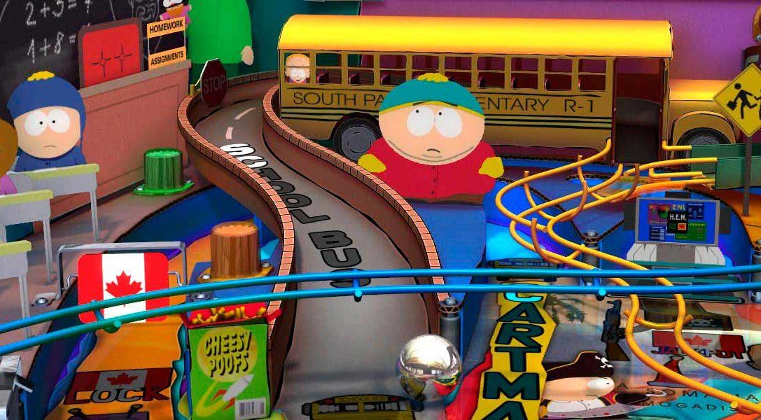 Las mesas de South Park llegan esta semana a Zen Pinball 2