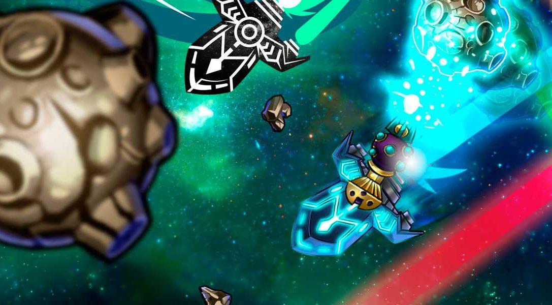 El shooter espacial multijugador In Space We Brawl llega a PS4 y PS3 la semana que viene