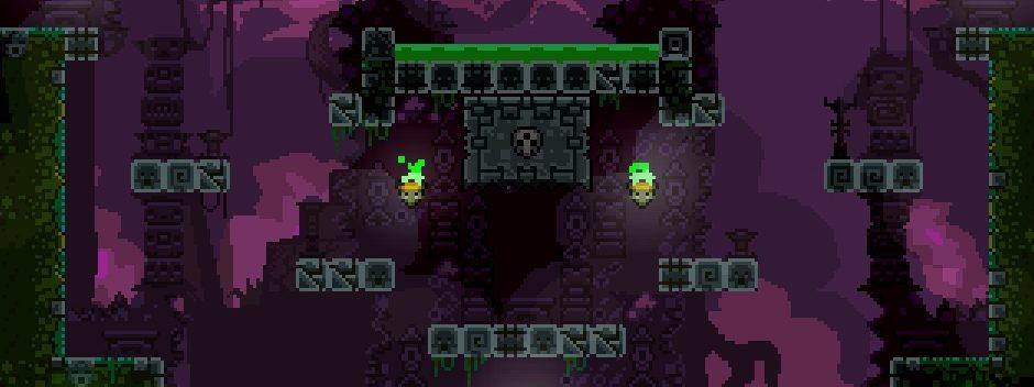 La expansión Dark World de TowerFall llega a PS4 a principios de 2015