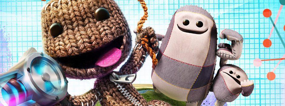 No te pierdas el streaming de LittleBigPlanet 3 esta tarde