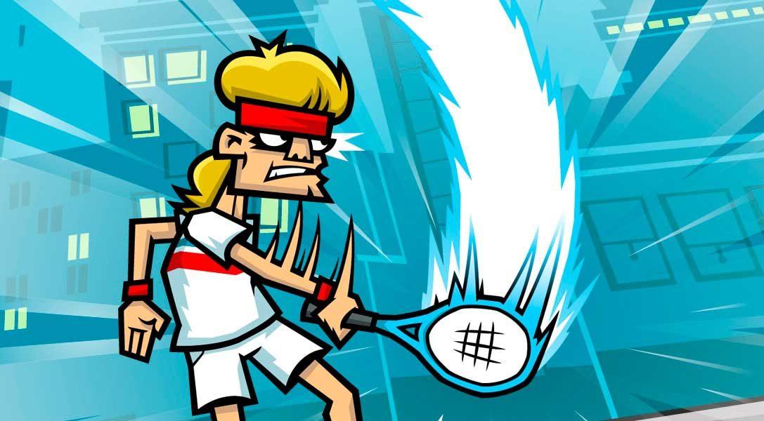 Reparte justicia en Tennis in the Face, disponible desde hoy para PS4