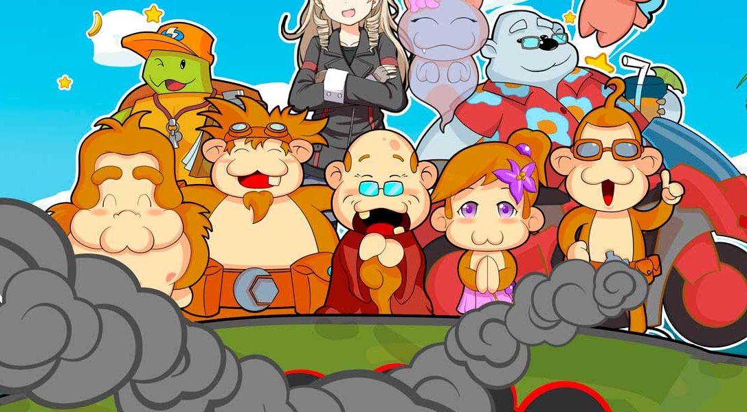 El extravagante juego de plataformas y puzles Baboon! llegará pronto a PS Vita