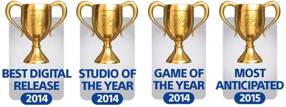 Ya está abierto el periodo de votación en el blog de PlayStation para los premios Game of the Year Awards 2014
