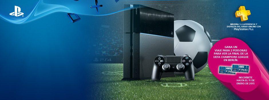 Liga Oficial PlayStation y El Corte Inglés te llevan a la final de la UEFA Champions League