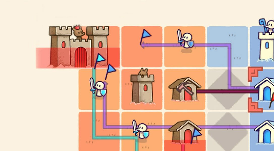 Llega el juego de estrategia turbo, Close Castles, del creador de Threes