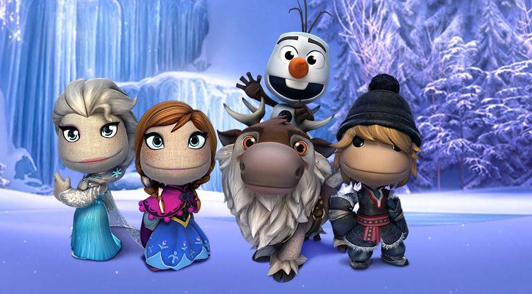 Pack de trajes de Frozen para LittleBigPlanet