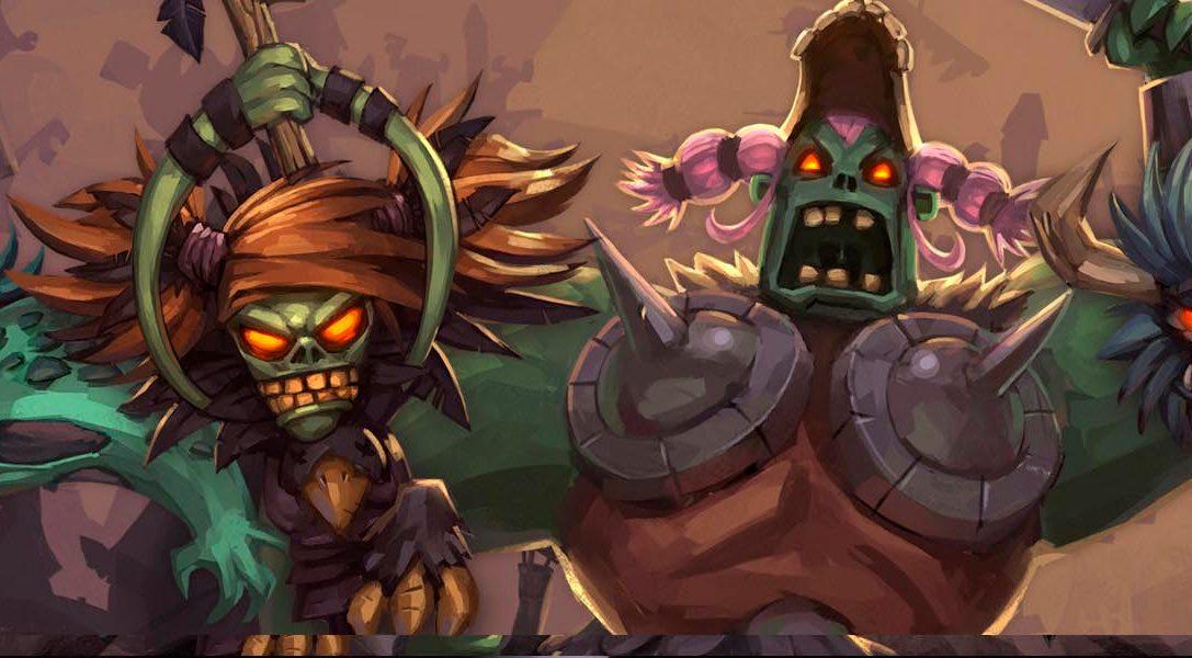 Revelado Zombie Vikings, un lunático beat'em-up con historia para PS4