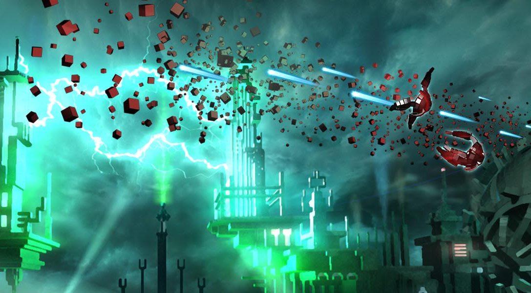 RESOGUN llega disparado a PS Vita y PS3 a finales de este mes