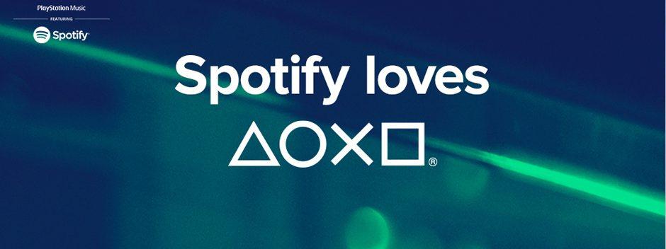 PlayStation, te presento a Spotify