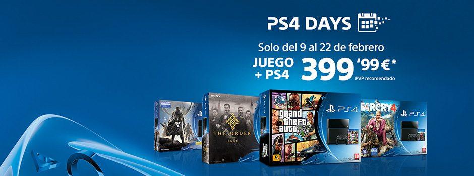 Vuelven los PS4 Days