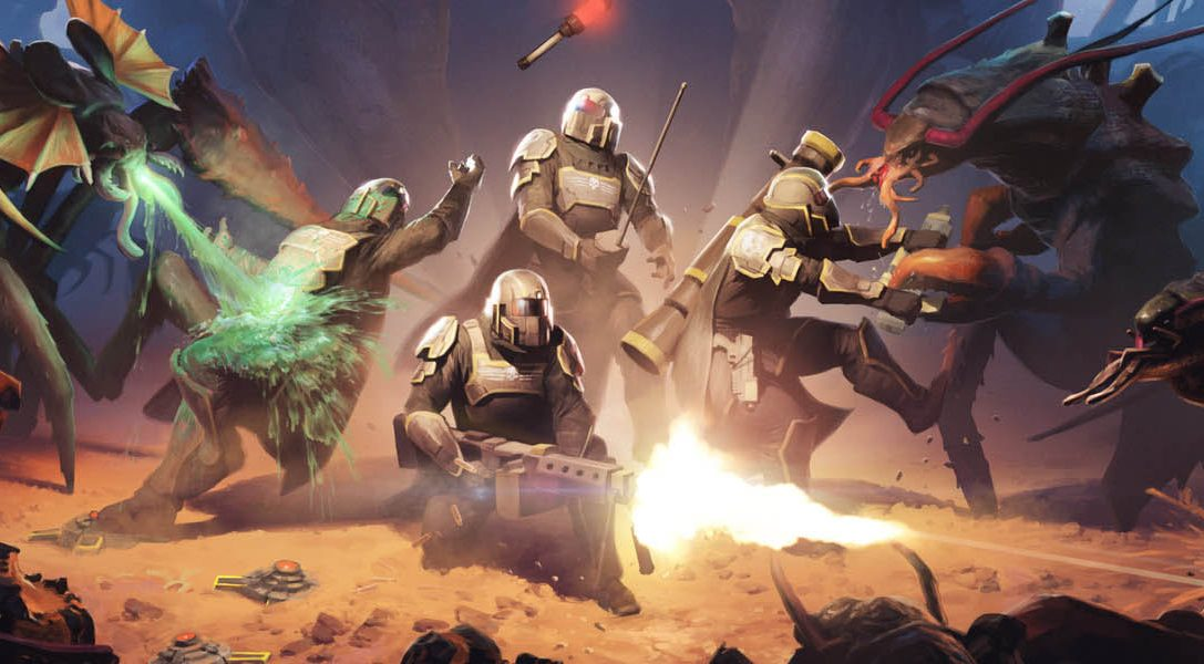 ¡Se ha declarado la guerra! Los Helldivers van al combate en PS4, PS3 y PS Vita el próximo mes