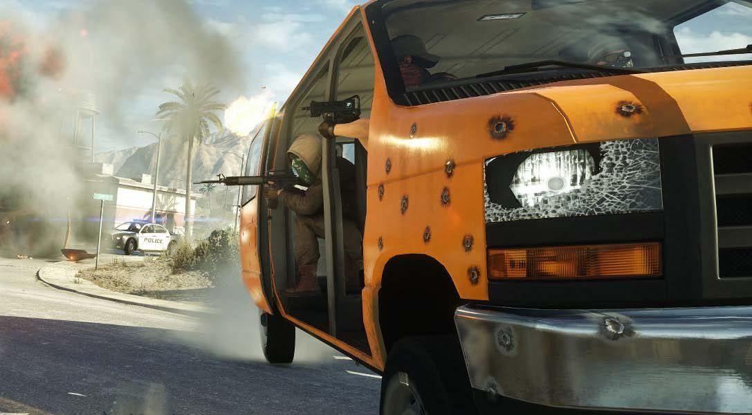 Disfruta desde hoy de la beta pública de Battlefield Hardline en PS4 y PS3