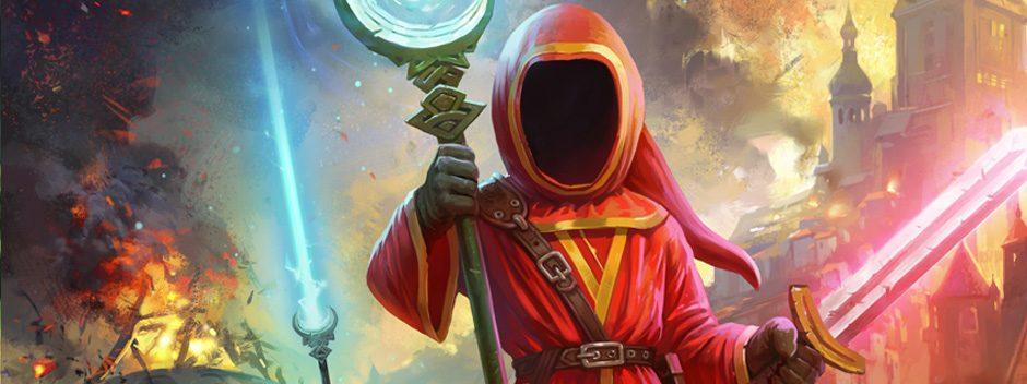Lanzando hechizos en PS4 gracias a Magicka 2