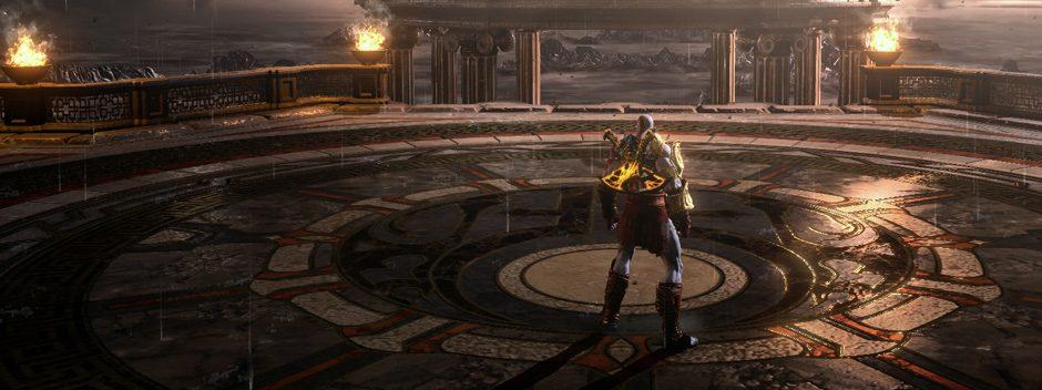 God of War III Remasterizado llegará a PS4 en julio