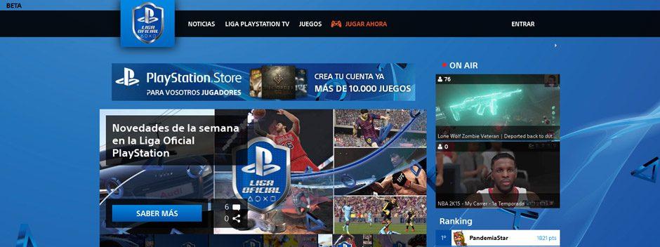 La Liga Oficial PlayStation evoluciona ¡No te pierdas las mejoras!