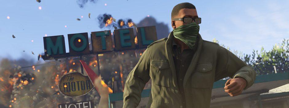 Ya puedes dar el Golpe con GTA Online en PS4 y PS3