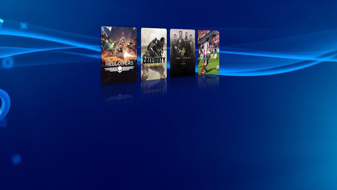 Disfruta esta semana de un 10% de descuento en PlayStation Store