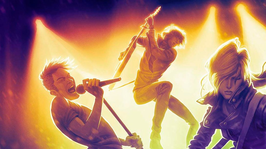 ¡Rock Band 4 llegará a PlayStation 4 este año!
