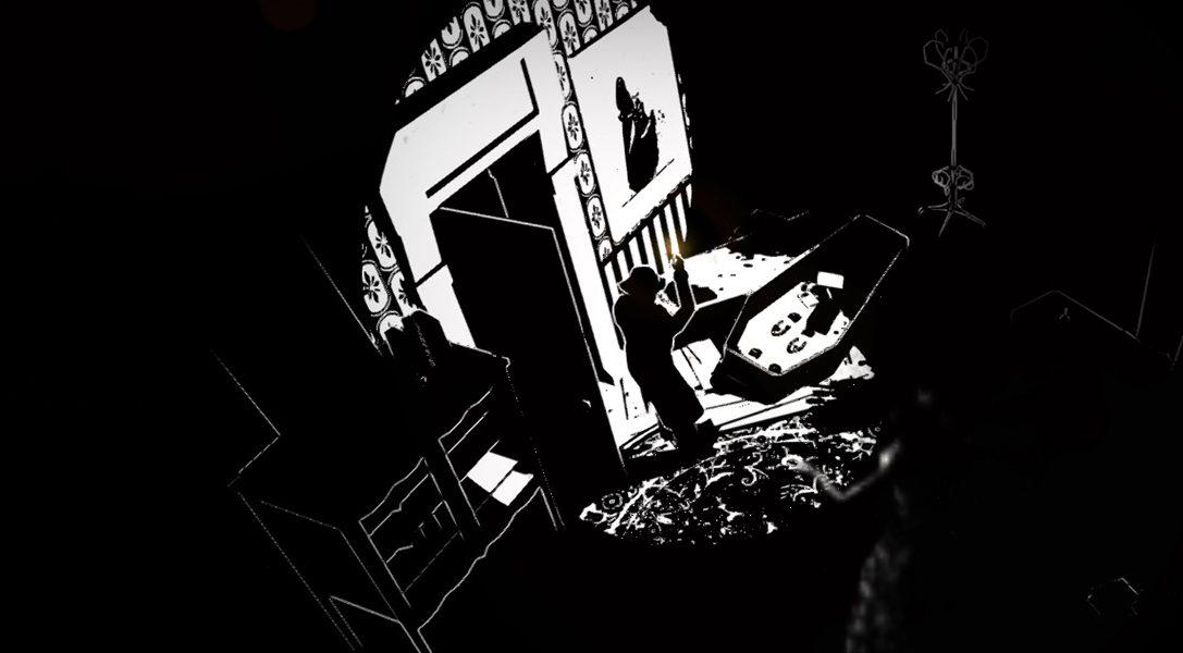 El expresionista y terrorífico White Night debutará en PS4 esta semana