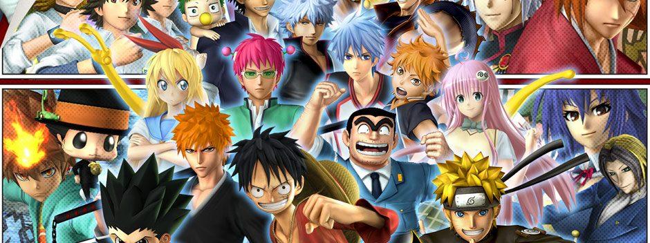 Nuevos tráilers para J-Stars Victory Versus+ y One Piece Pirate Warriors 3