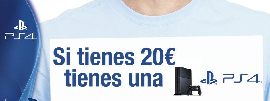 ¿Tienes 20 €? Tienes una PS4