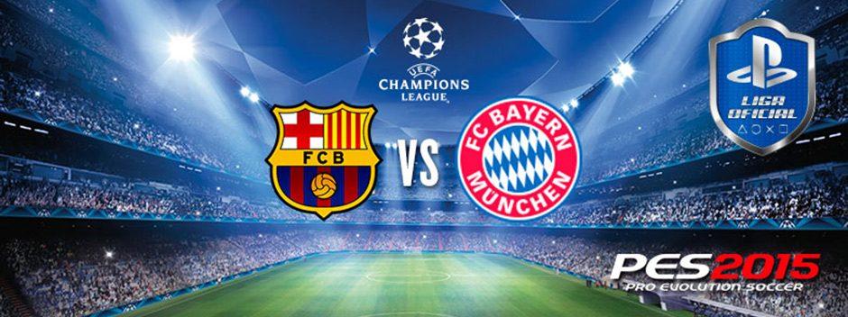 Consigue dos entradas para el Barça-Bayer con PES 2015 y la Liga Oficial PlayStation