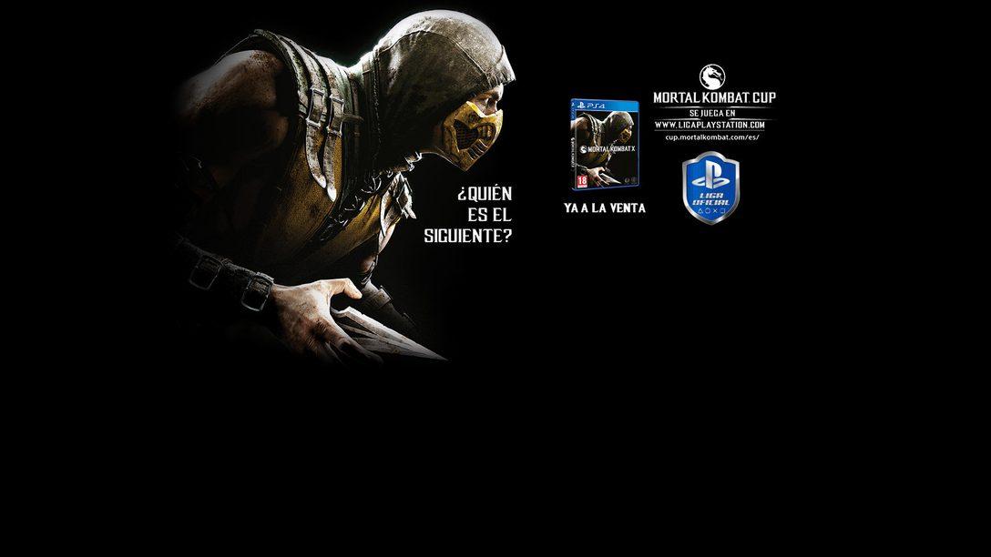 Mortal Kombat X ficha en exclusiva por la Liga Oficial PlayStation