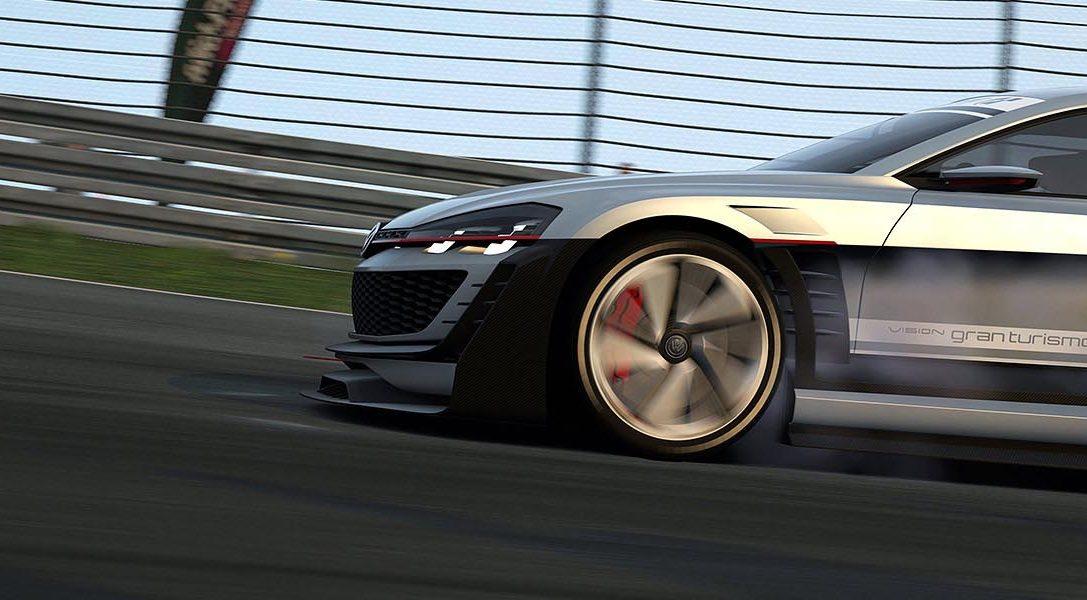 La actualización de Gran Turismo 6 añade un nuevo coche Vision GT de Volkswagen.