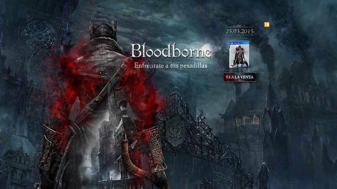 Demuestra tu habilidad con Bloodborne