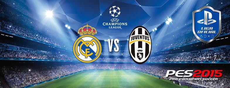 Disputa el Torneo Especial PES 2015 Real Madrid – Juventus y gana entradas para la Champions League