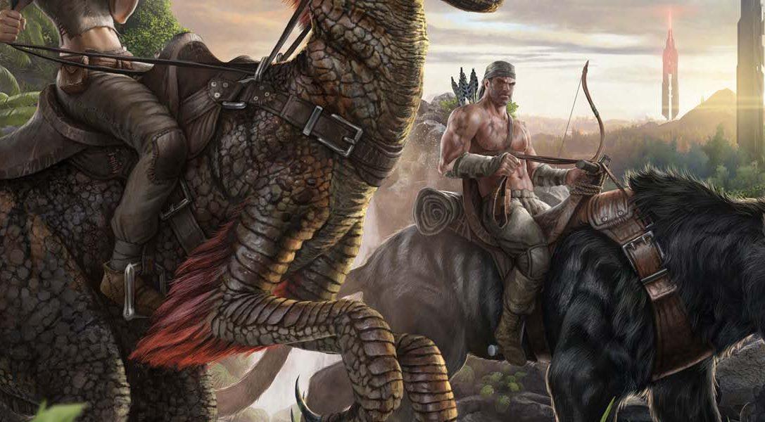Cabalga sobre dinosaurios en ARK: Survival Evolved, pronto para PS4