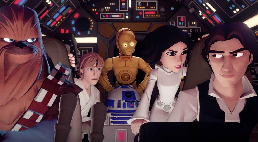 Disney Infinity 3.0: Play Without Limits anunciado para PS4 & PS3 y protagonizado por Star Wars