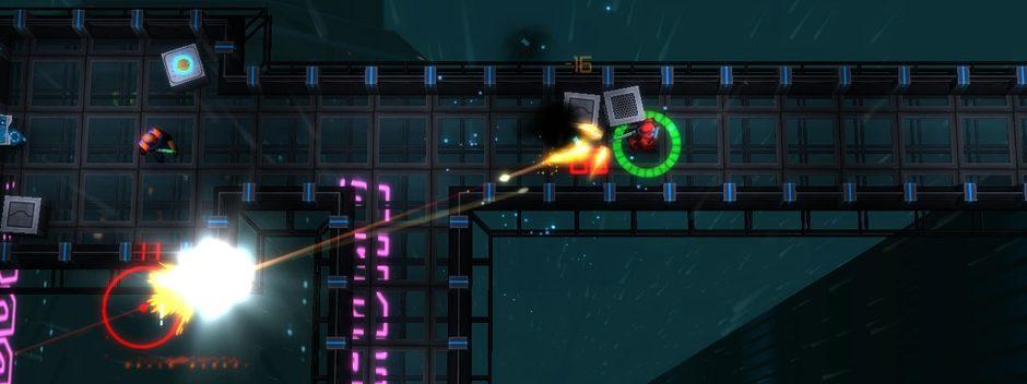 Neonchrome, un shooter vertical ciberpunk para PS4