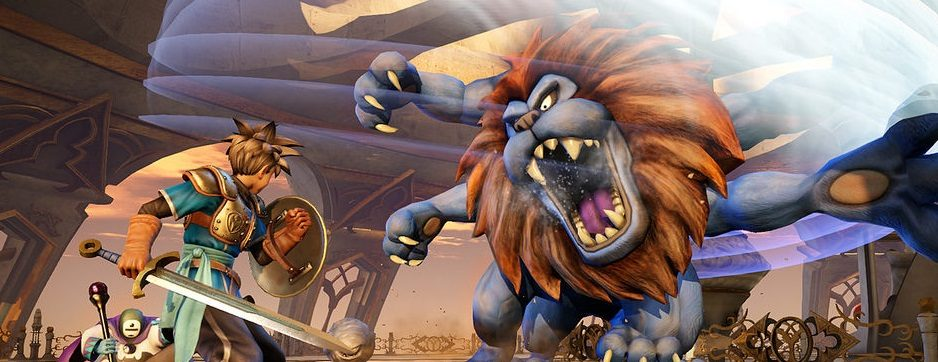 Dragon Quest Heroes desembarcará en PS4