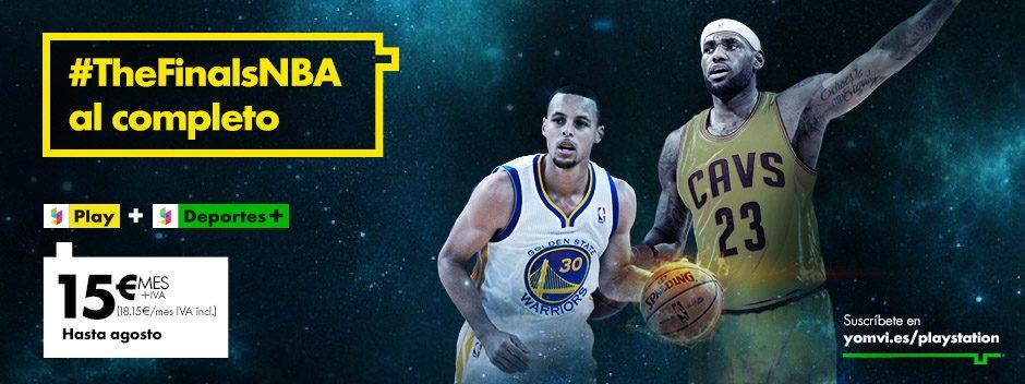 Disfruta de las finales de la NBA al completo con YOMVI en PS4