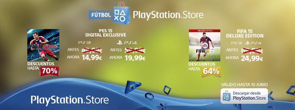 El mejor fútbol está de rebajas en PlayStation Store